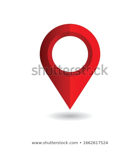 Navigasyon harita gps konum imzalamak vektör Stok fotoğraf © pikepicture