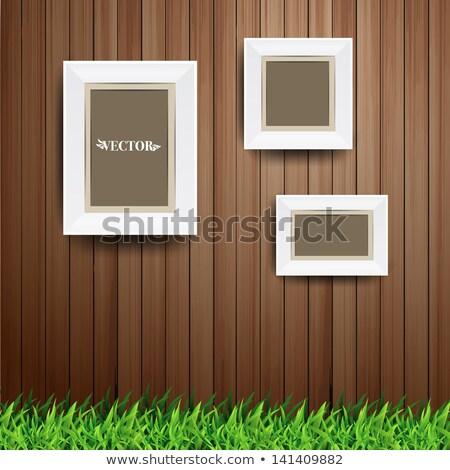フォトフレーム 緑 芝生 草原 フレームワーク 自然 ストックフォト © robuart
