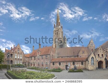 Edad hospital Bélgica vista canal agua Foto stock © borisb17