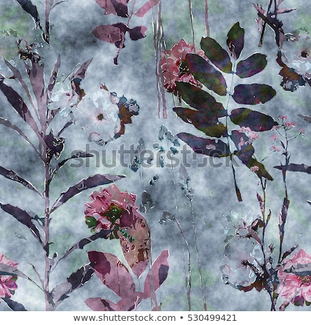 In bianco e nero floreale motivi texture Foto d'archivio © lissantee