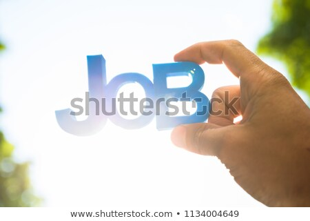 szó · Korzika · közelkép · kéz · kaukázusi · férfi - stock fotó © andreypopov
