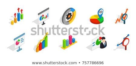 Stok fotoğraf: Diyagramları · vektör · izometrik · istatistik
