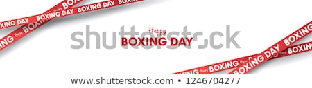 Boxing Day Background Stock photo © Lightsource
