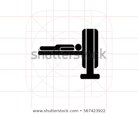 Computer Diagnostic, Element of MRI, Icon Vector Stock photo © robuart
