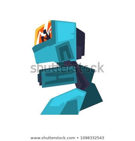 Militari uomo moderno tecnologia futuro illustrazione Foto d'archivio © jossdiim