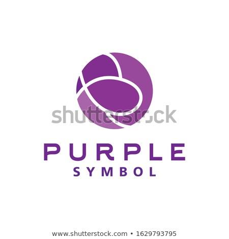 Esfera círculo gotículas logotipo símbolo Foto stock © gothappy