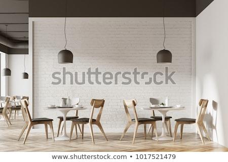 Cafe or Restaurant Interior Modern Cafeteria Diner Stock photo © robuart