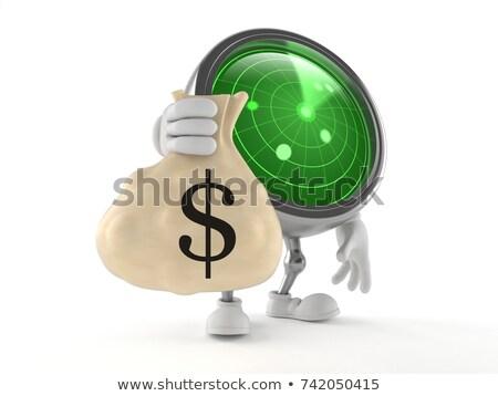 Dinheiro radar tela negócio oportunidades mundo Foto stock © Andreus