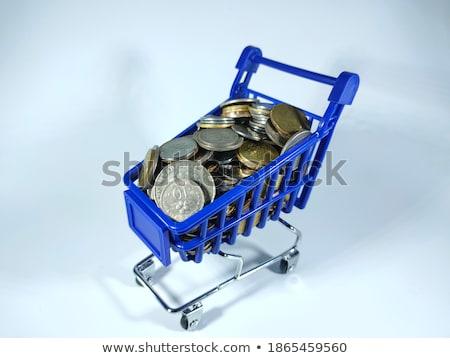foco · crescimento · riqueza · isolado · azul · rua - foto stock © johnkwan