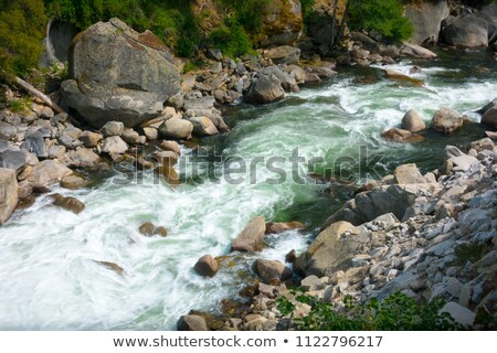 dirsek · çağlayan · düşmek · gün · ülke - stok fotoğraf © bobkeenan