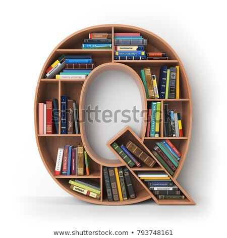 Letter Q from alphabet Stock photo © RuslanOmega