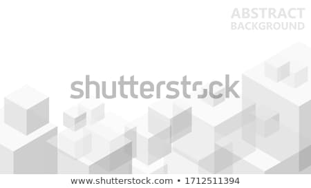 Abstract brick cubes Stock photo © cidepix