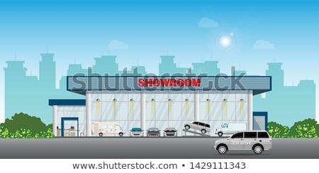 vector cartoon modern car Stock photo © mechanik