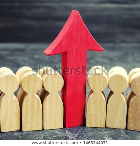 growth red arrow stock photo © 4designersart