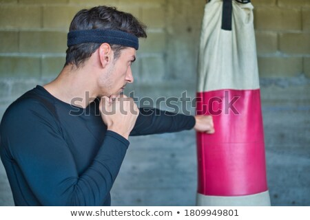 Man punching Stock photo © curaphotography