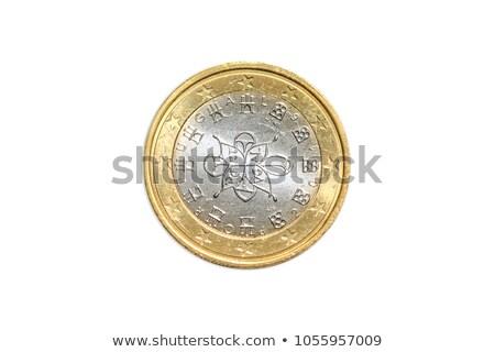 monetáris · fa · karácsony · díszített · pénz · izolált - stock fotó © njaj
