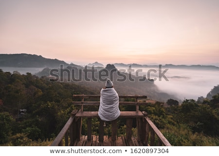 lone traveler Stock photo © Aliftin