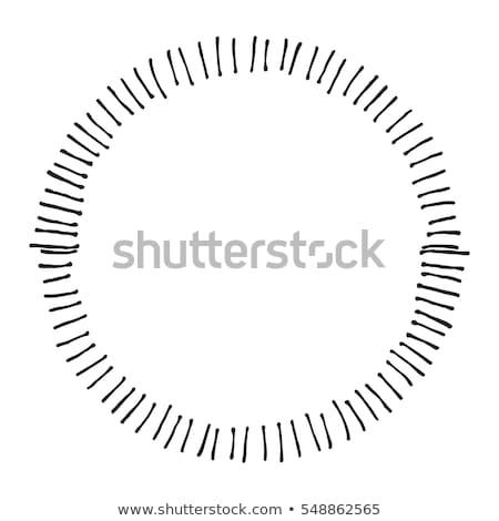 frame · illustratie · wijnstokken · bloemen · abstract · romantische - stockfoto © gladiolus