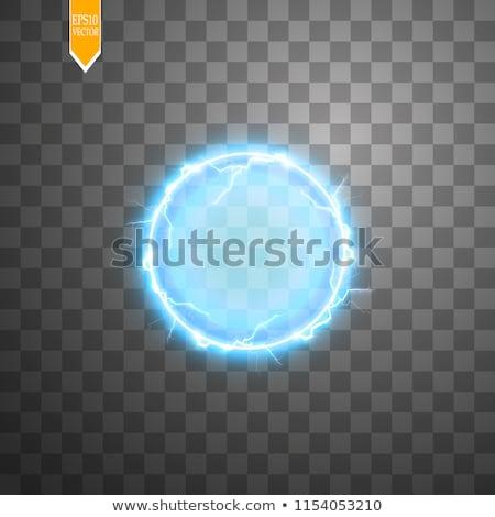 Eléctrica esfera fantasía resumen diseno tecnología Foto stock © fixer00