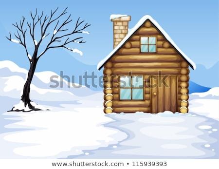 дома · строительство · зима · время · здании - Сток-фото © prill