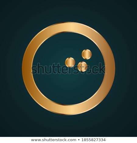 Goud target pijl kroon abstract illustratie Stockfoto © dengess