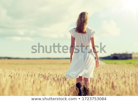Country Woman Stock photo © cboswell