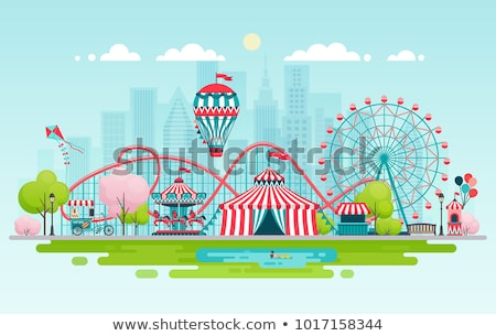 Amusement Park Stock photo © vlad_podkhlebnik