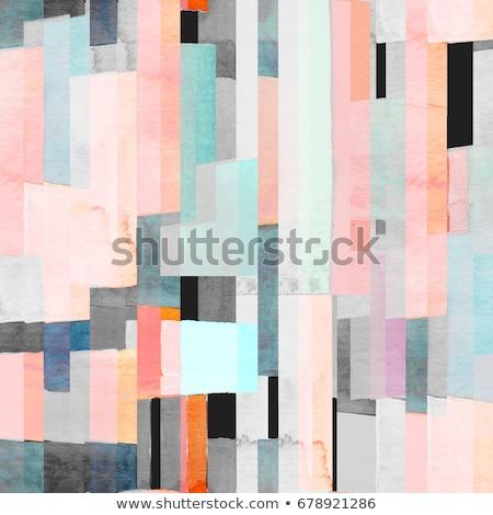 Foto stock: Colorido · abstrato · padrão · projeto · cor · brilhante