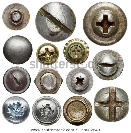 metal · dado · arrugginito · influenzare · acqua · aria - foto d'archivio © ruzanna