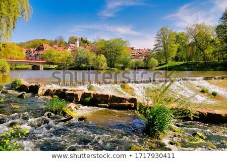 Landelijk landschap zuidelijk Duitsland zomer tijd Stockfoto © prill