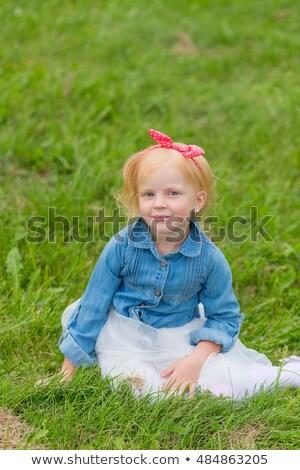 молодые · модель · розовый · чулки · белый · женщину - Сток-фото © carlodapino