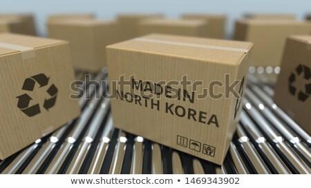 made in north korea Stock photo © tony4urban