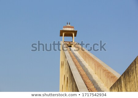 sundial in astrology observatory India Stock photo © Mikko