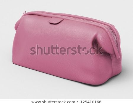 pink leather clutch stock photo © supertrooper
