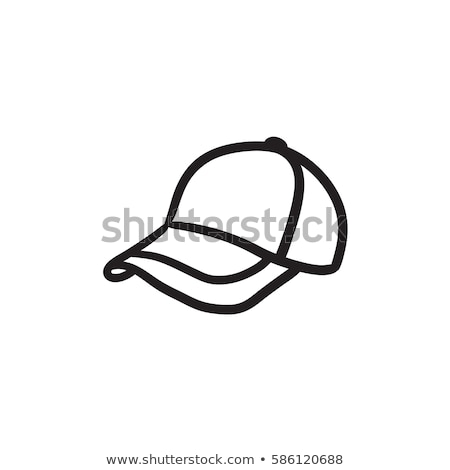 vektör · ikon · şapka - stok fotoğraf © zzve
