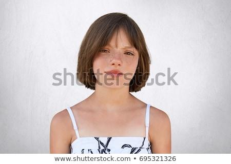 привлекательный ребенка серьезный создают студию Сток-фото © shamtor