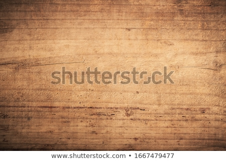 Stock photo: Empty chipboard fence