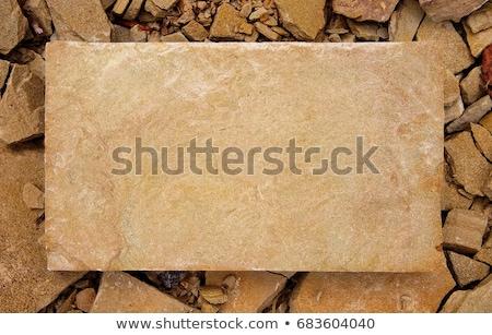sandstone plate stock photo © zerbor