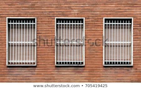 Window security bars Stock photo © hraska