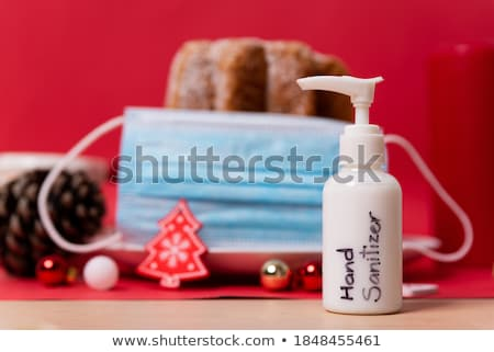 Christmas composition with Pandoro Stock photo © aladin66