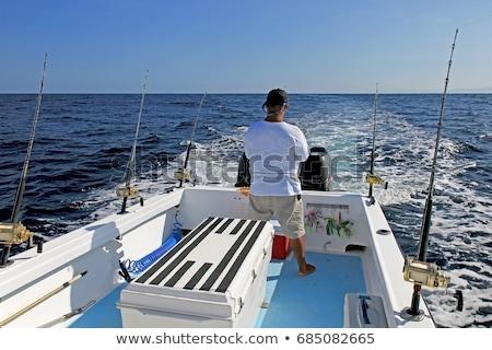 рыбак · большой · рыбы · стержень - Сток-фото © lunamarina