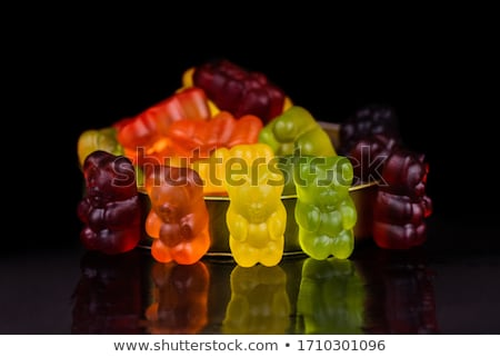 Colorful Jelly Candies in tin can Stock photo © Discovod