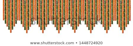 Yellow Orange Marigold Flower garlands Stock photo © stocker