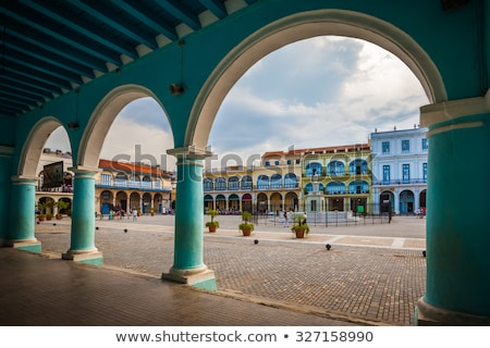 Cuba Havana Plaza Vieja Stock photo © weltreisendertj