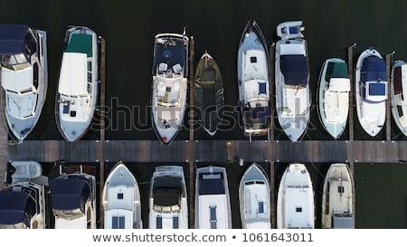Pequeño barco agua canal Portugal naturaleza Foto stock © dinozzaver