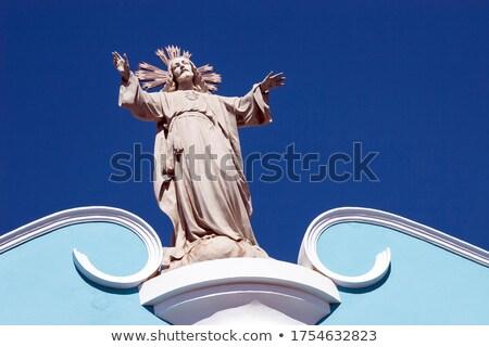 szobor · Jézus · Krisztus · katolikus · templom · kereszt - stock fotó © w20er
