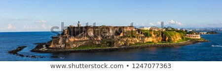 砦 · パノラマ · 古い · サンファン · プエルトリコ · 人気のある - ストックフォト © arenacreative