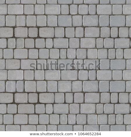 concrete decorative pavement seamless tileable texture stock photo © tashatuvango