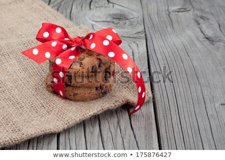 Festive wrapped chocolate pastry biscuits    Stock photo © natika