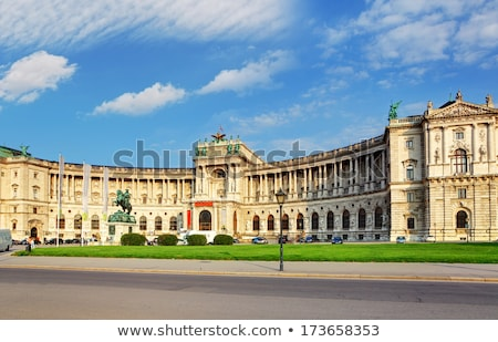 Vienna Hofburg Imperial Palace at day, - Austria Stock photo © bloodua